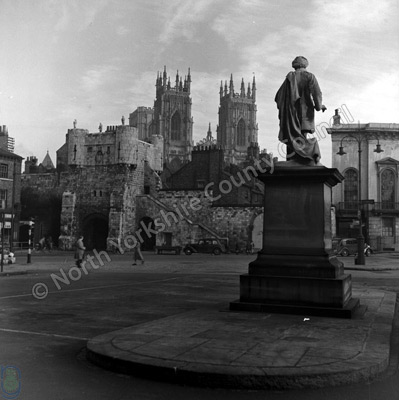 Bootham Bar, Exhibition Square, York Minster
